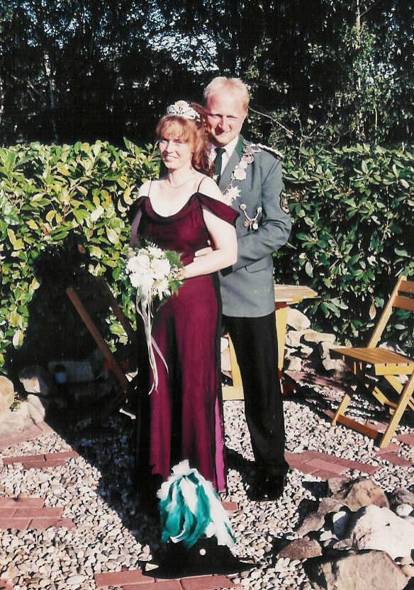 König Thorsten mit Königin Anita Lux