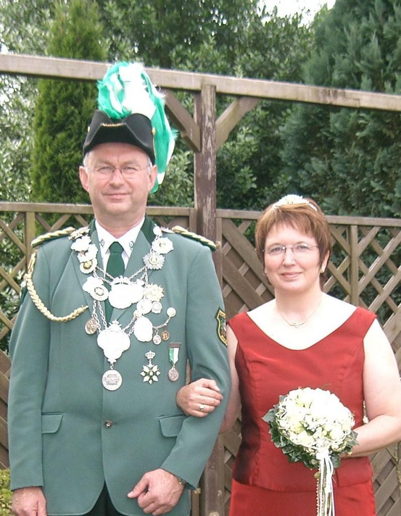 König Wolfgang mit Königin Adele Tietz