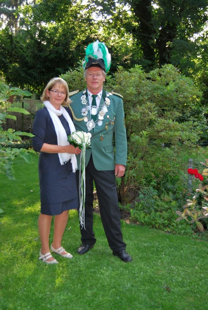 König Willhelm mit Königin Maria Meyer