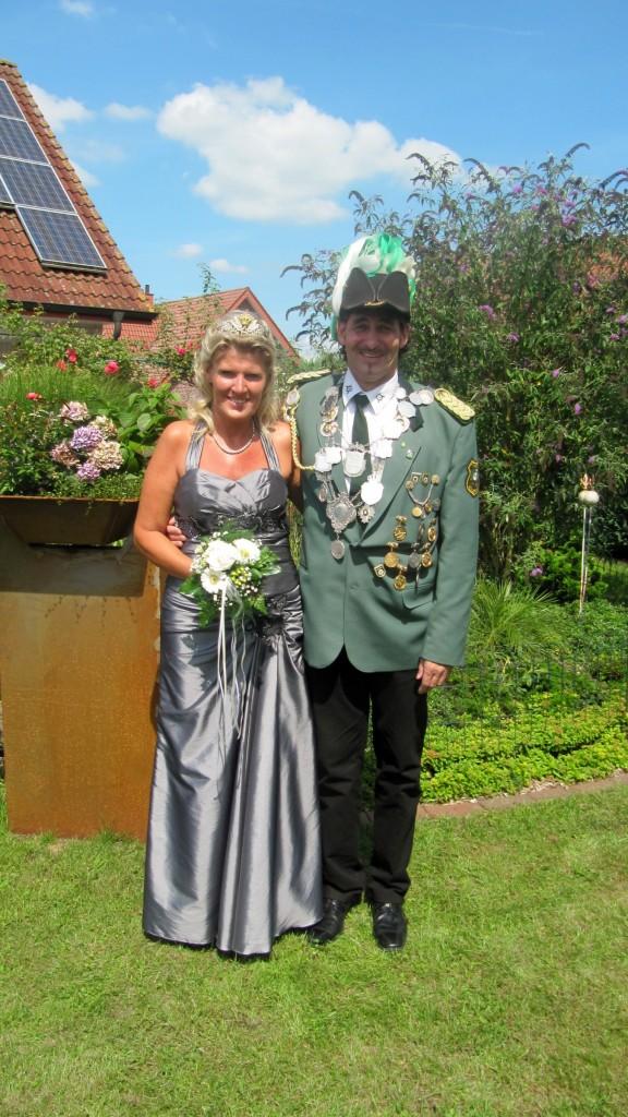 König Werner mit Königin Sylvia Prange