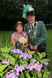 König Josef mit Königin Renate Sabelhaus
